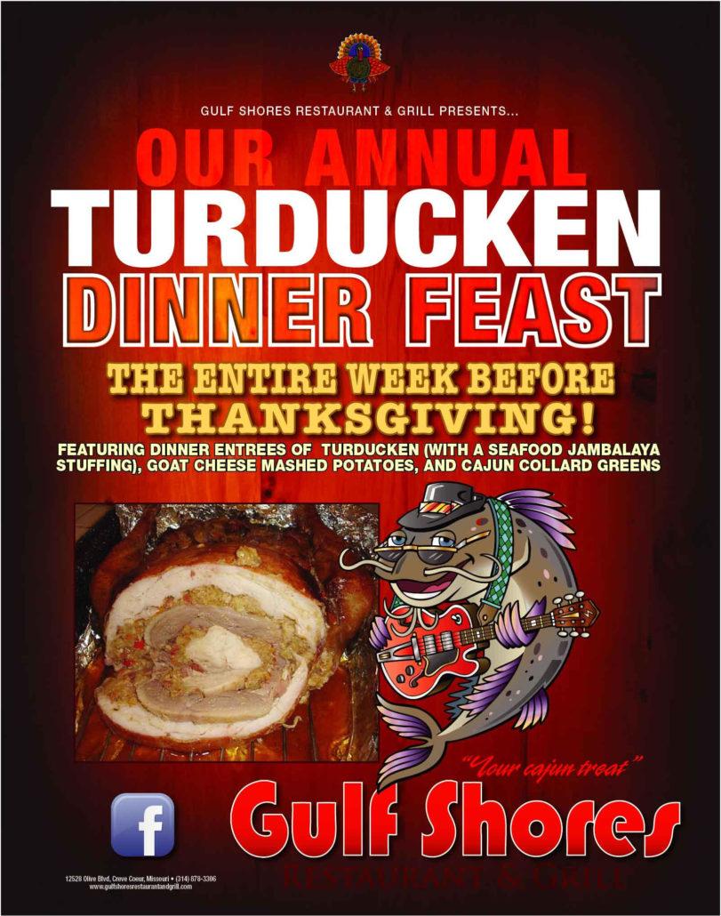 Turducken Dinner Feast Gulf Shores Restaurant and Grill